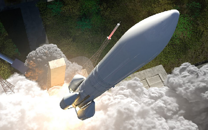 ID Quantique will supply single-photon technologies to the next-generation space launch vehicle Ariane 6. (Image credit: ESA)