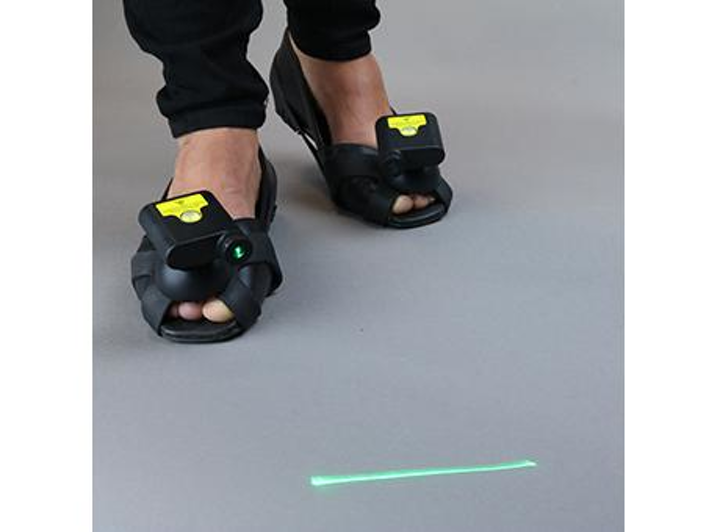 Update on last week's story: 'Laser guide shoes prevent 'freezing' in Parkinson's patients trying to walk'