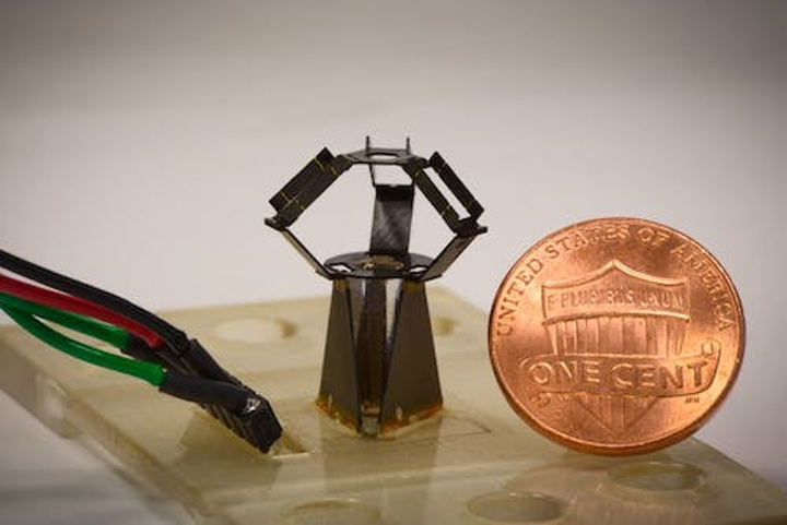 This fast 'milliDelta' piezoelectric actuator from Harvard looks useful for optics and photonics labs (watch the video)