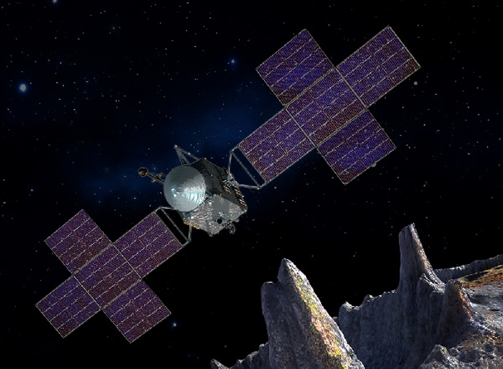 LGS Innovations will provide laser communications for the NASA Psyche mission to explore an unusual asteroid. (Image credit: NASA)