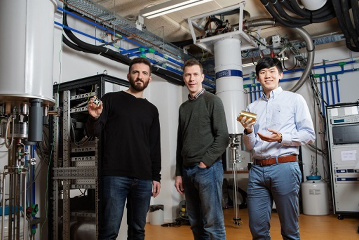 TU Delft researchers are advancing towards a silicon quantum chip that will bring quantum computers closer to commercial use. (Image credit: TU Delft)