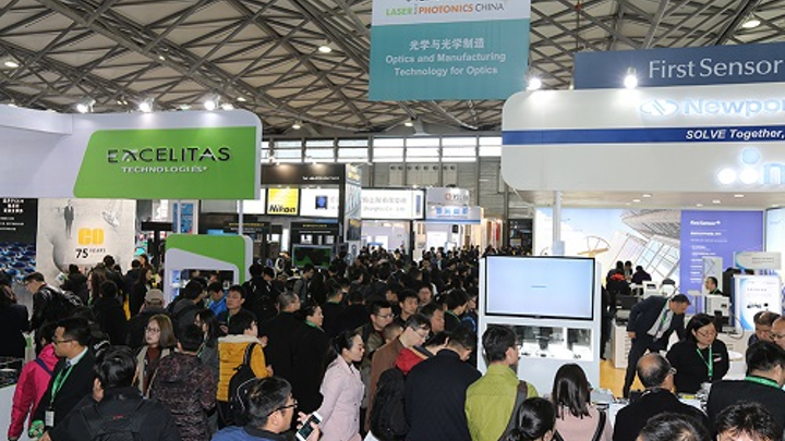 As it did last year as shown, LASER World of PHOTONICS CHINA 2018 will attract a large crowd to Shanghai to showcase the latest happenings in photonics technology. (Image credit: Messe Muenchen)