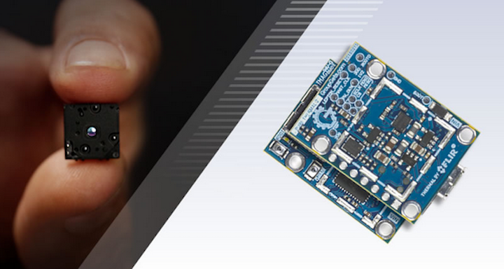 The FLIR Maker Challenge asks you to imagine any new application that would need a long-wave infrared (LWIR) sensor; winners take home the Lepton sensor itself and a PureThermal2 board to realize their project or can win other prizes. (Image credit: FLIR)