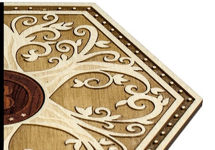The Glowforge home laser printer uses 40 to 45 W lasers in a self-contained system to easily print products in wood, leather, and many more materials. After a crowdfunding campaign, the product is now available for general sale. (Image credit: Glowforge)