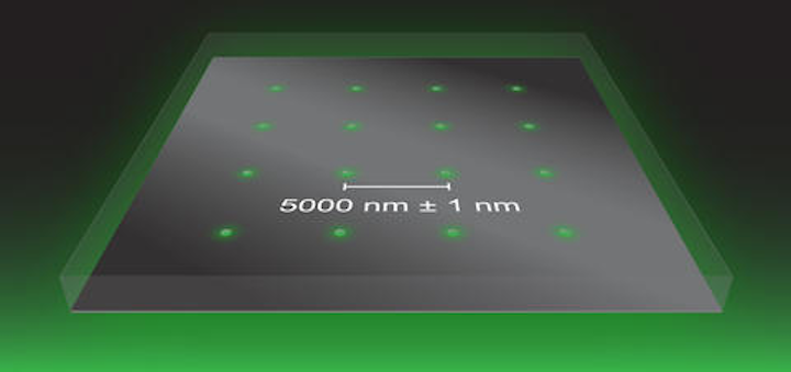 From NIST: How to calibrate an optical microscope's field to atomic accuracy