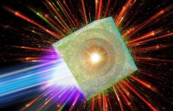 Laser-driven microbubble implosion is new way to create a tabletop particle accelerator