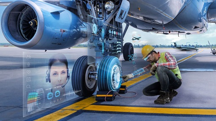 Augmented reality (AR) will have an important role in industrial applications such as on-site equipment repair and educational instruction. (Image credit: RE'FLEKT)