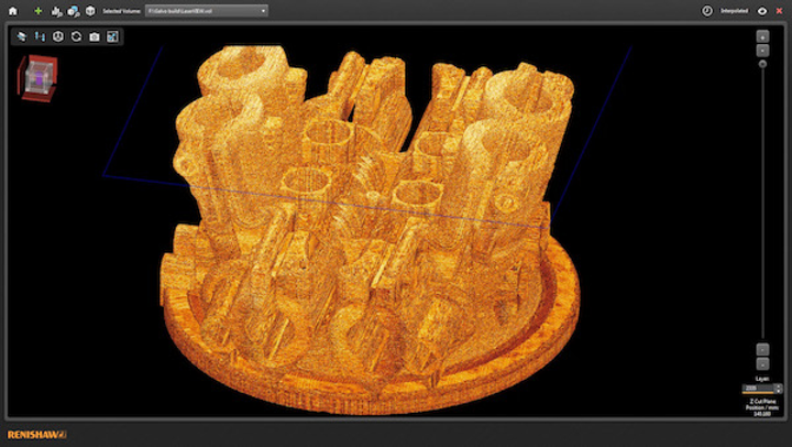 Renishaw software analyzes laser additive-manufacturing process data, improves consistency