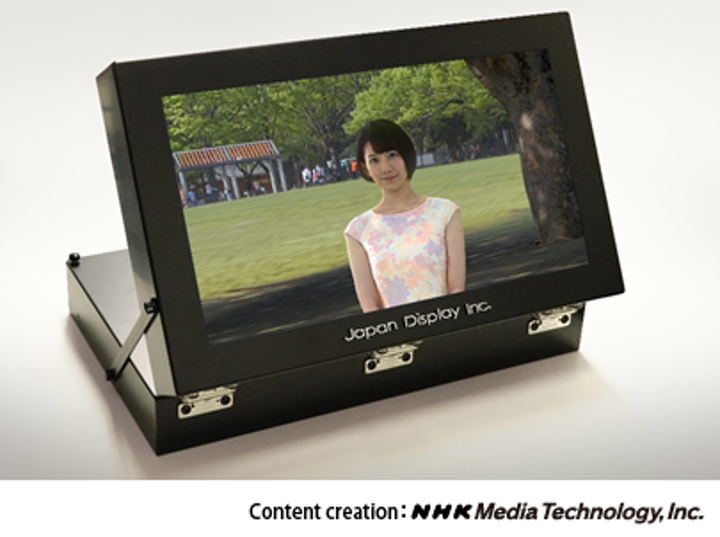 JDI and NHK-MT create 17 inchs light-field display that allows 3D video without glasses