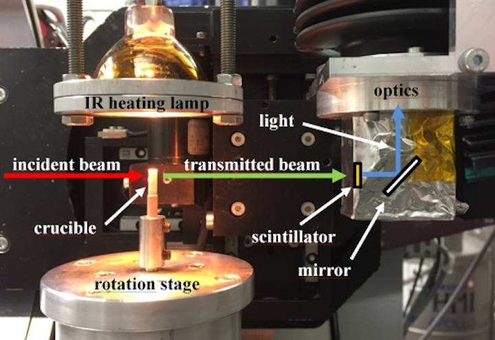 Custom precision rotary table enables fastest 3D x-ray tomographic images
