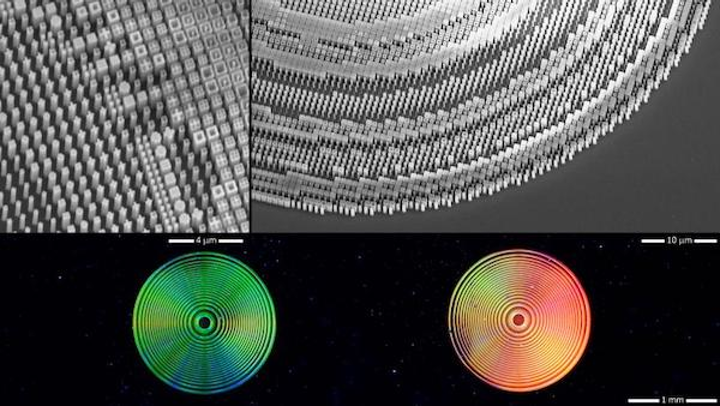 First broadband optical metalens also focuses arbitrary polarization states