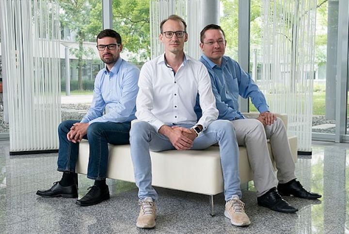 Shown are the founders of lidar startup Blickfeld. (Image credit: Blickfeld)