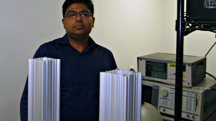 DARPA awarded a $1.3 million grant to a team led by UCF researcher Debashis Chanda (shown here) to fund the development of a next-generation infrared detector. (Image credit: UCF)