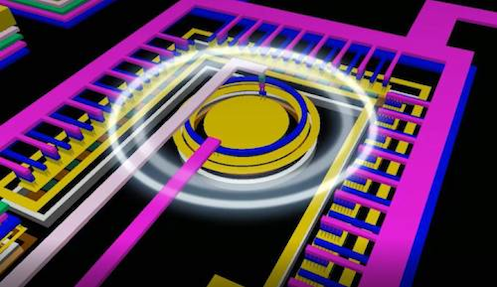 On-chip optical link is created on electronic chip for the first time