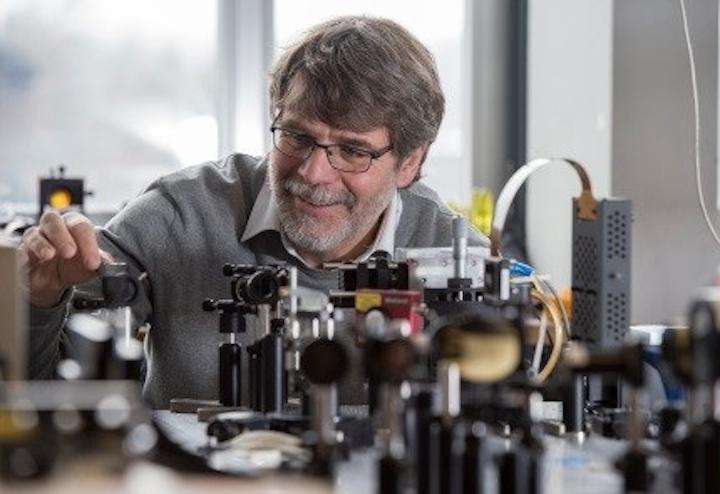 Jerome Faist of ETH Zurich is the 2019 winner of the Julius Springer Award for his work in quantum cascade laser (QCL) technology. (Image credit: Springer/H. Hofstettler)