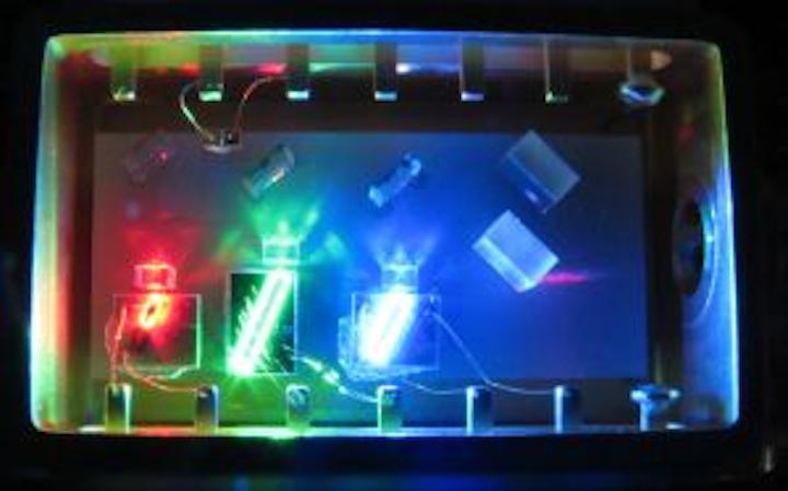 RGB SLED module from Exalos has utility in microdisplays