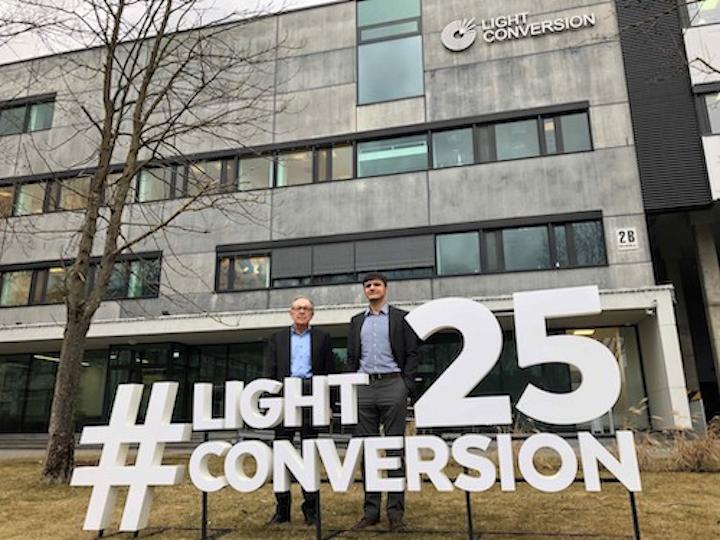 Femtosecond-laser maker Light Conversion has a new CEO