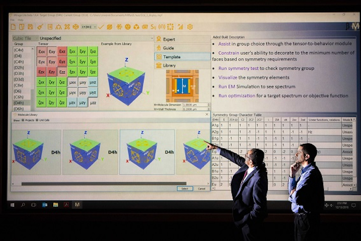 Sandia metamaterial design software now available to license