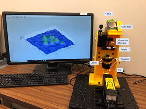 High-resolution 3D printed microscope is promising for medical diagnostics in developing countries