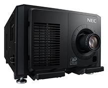 NEC has launched what it says is the world's first digital cinema projector that offers the ability to replace the laser module in the projector head. (Image credit: NEC Display Solutions of America)