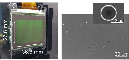 Pinhole-based 'photon sieve' widens viewing angle of dynamic holographic displays