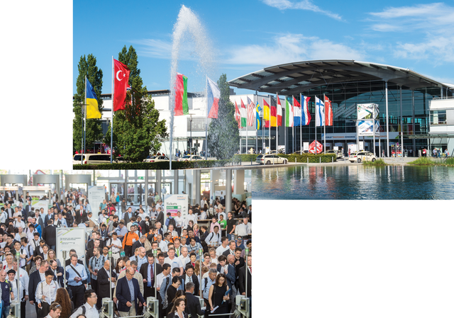 FIGURE 1. LASER World of PHOTONICS takes place at the Messe München fairgrounds, outside of Munich.