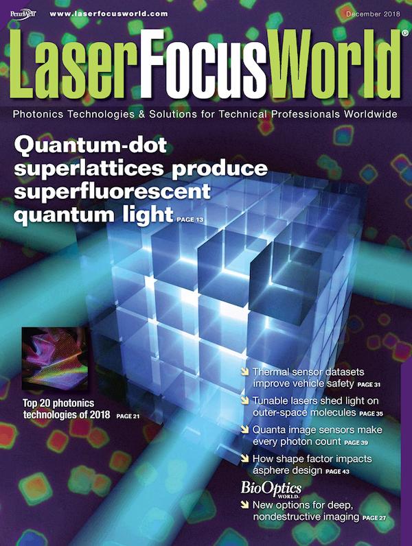 Laser Focus World Volume 54, Issue 12