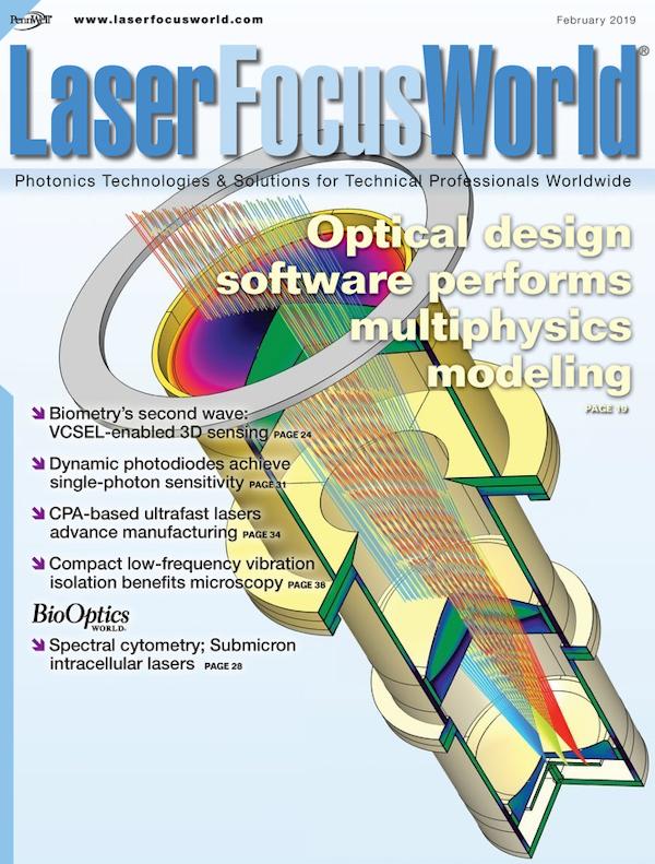 Laser Focus World Volume 55, Issue 02