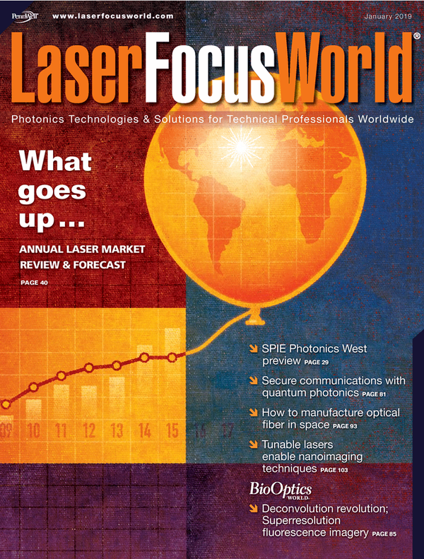 Laser Focus World Volume 55, Issue 01