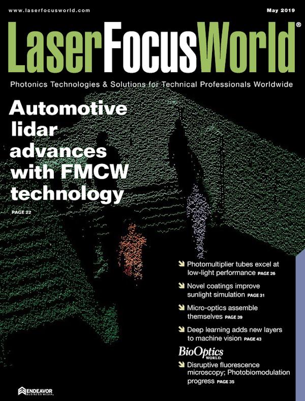 Laser Focus World Volume 55, Issue 05