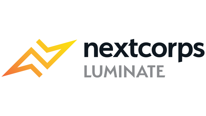 Shown is the official logo for Luminate--a competition that awards development dollars to optics, photonics, and imaging (OPI) startups to accelerate future businesses in New York State.