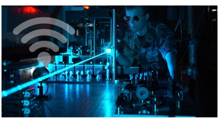 Laser-based frequency combs are being used to both generate and receive radio frequency (RF) signals.