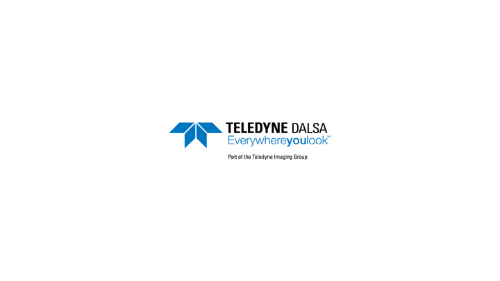 Teledyne Dalsa With Imaging Group Tagline X70