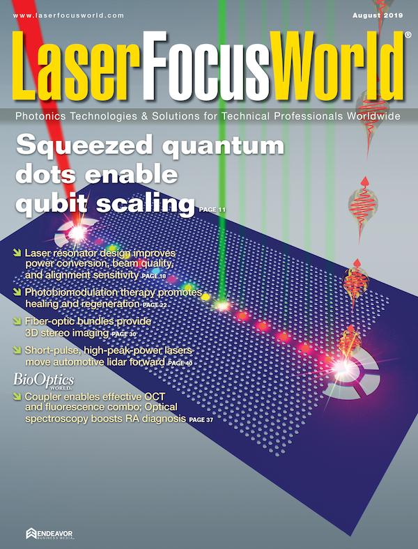 Laser Focus World Volume 55, Issue 08