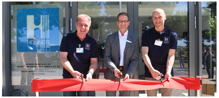 The new laser facility is opened in Kassel, Germany.
