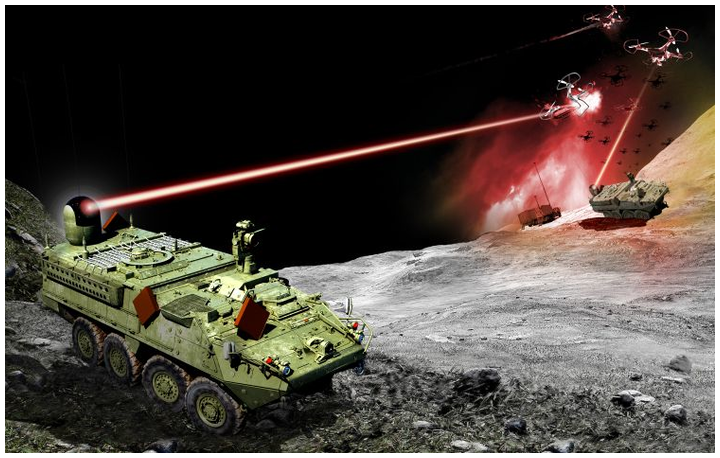 Northrop Grumman has been selected to develop and integrate a directed-energy prototype solution on a Stryker combat vehicle for the U.S. Army to better protect highly mobile frontline units. The effort will culminate in a competitive performance checkout leading into a range demonstration that informs Maneuver Short Range Air Defense (M-SHORAD) requirements.