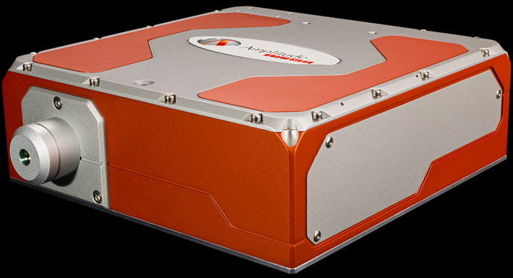 This ultrafast laser is used for industrial transparent and brittle material cutting.