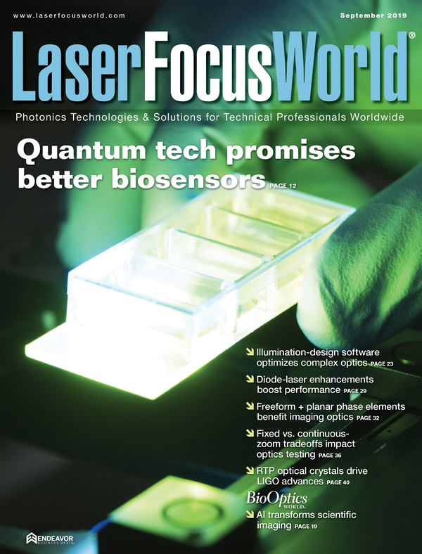 Laser Focus World Volume 55, Issue 09